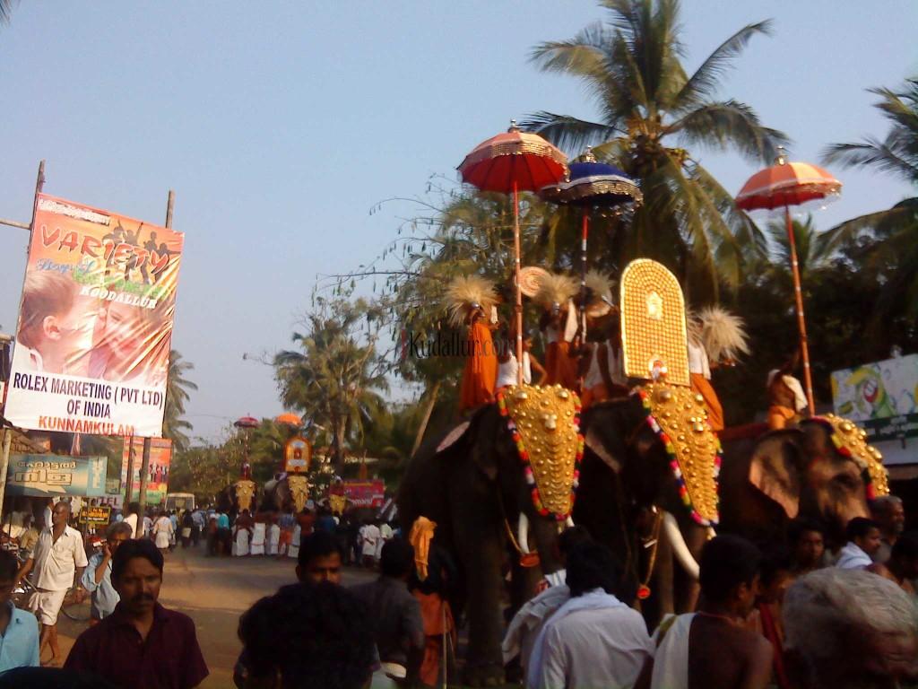 Kudallur Pooram 2010