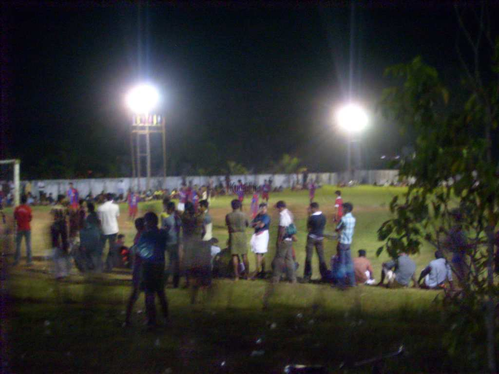 FIFA Mini Flood Light Football Tournament - Kudallur.com