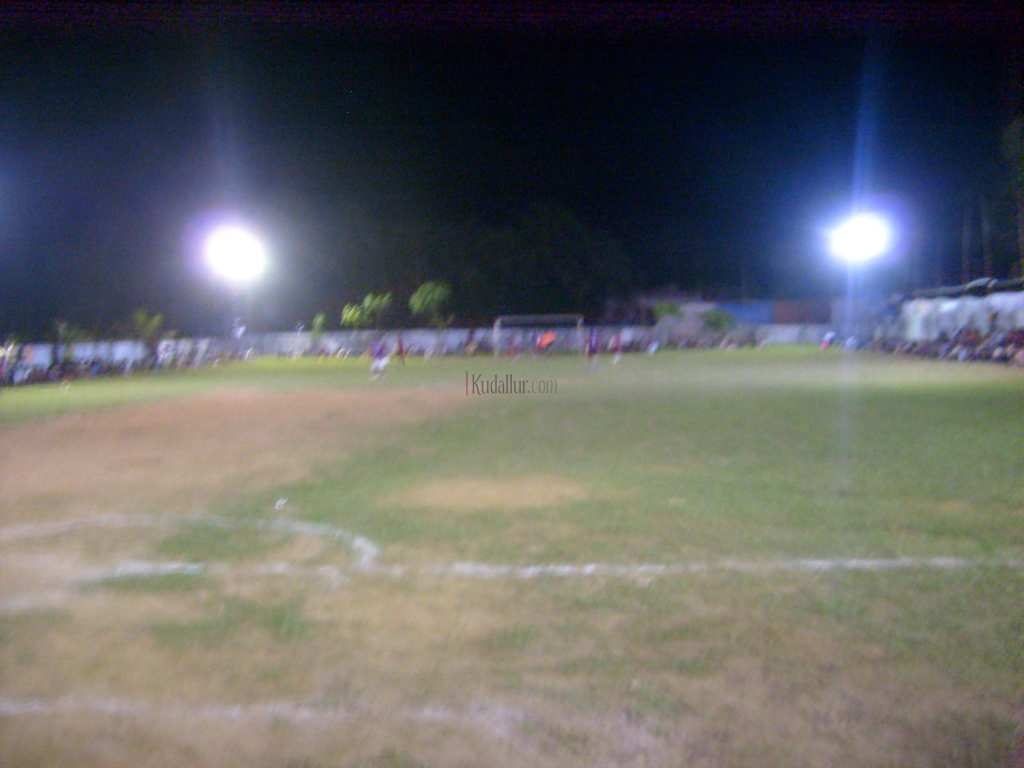 FIFA Mini Flood Light Football Tournament at GUPS Kudallur