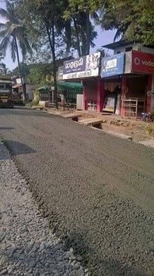 Road Work - Kumbidi  - Thrithala